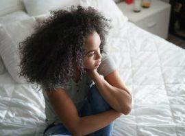kobieta w depresji