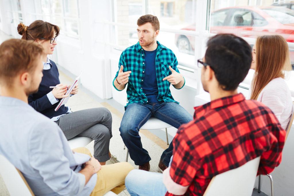 Wsparcie AA - terapia grupowa